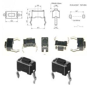 10-Stueck-Miniatur-Taster-Neu-kein-Porto-superkleine-Schalter