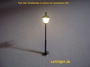 10-Stueck-Parklaterne-oder-Strassenlampe-mit-LED-in-warmweiss-LYM-Nr-4