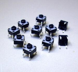 10-Stueck-Taster-FSM-6-x-6-1825910-2-FSMJ-1x-Aus-Ein-24-V-DC-50-mA-M3700