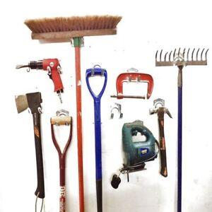 Garage Garden Tool Storage