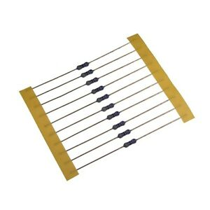10-Widerstand-680Ohm-MF0207-Metallfilm-resistor-680R-0-6W-TK25-0-1-022398