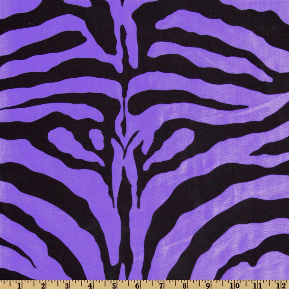 "10 Yards 60"" Flocking Flocked Zebra Taffeta Fabric 3 Colors High ..."