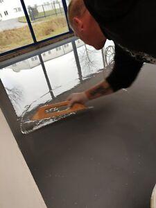 10 kg eisengrau epoxidharz garagen bodenbeschichtung beton farbe bodenfarbe ebay. Black Bedroom Furniture Sets. Home Design Ideas