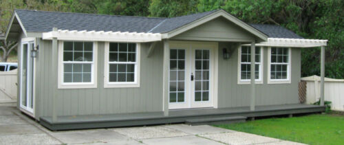 10 x 30 guest house cottage granny flat home office w/ bathroom and kitchenette in Real Estate, Manufactured Homes   eBay