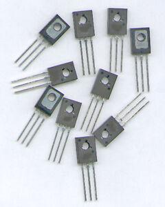 10-x-BD682-DARLINGTON-PNP-mit-DIODE-100V-4A-40W
