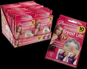10-x-INSTANT-BREAST-LIFT-ENHANCERS-BOOB-BUST-CLEVAGE-SHAPER-TIT-TAPE