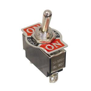 10-x-Kippschalter-250-V-10-A-1-polig-3-Kontakte-2-x-Schliesser-Ein-Aus-Ein-5753