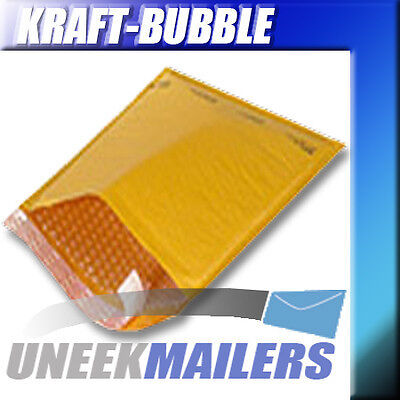 100 4x8 Kraft Bubble Mailer Envelope Shipping Wrap Paper Mailing Uneekmailers in Business & Industrial, Packing & Shipping, Mailers | eBay