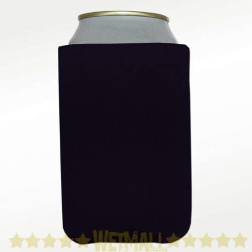 100 Black Can Koozie Blank Beer coolers Party Wedding in Home & Garden, Greeting Cards & Party Supply, Party Supplies | eBay