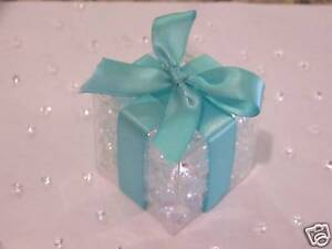 Clear Wedding Favor Boxes on 100 Clear Favor Boxes Wedding Party Supplies 2x2x2 Box   Ebay