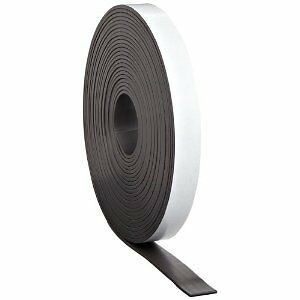 "100 Feet Flexible Magnet Magnetic Strip 1/2"" wide Adhesive Back 30 Mil in Crafts, Other Crafts 