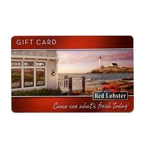 $100 GIFT CARD RED LOBSTER OLIVE GARDEN+FREE SHIPPING $1.00 Bid! in Gift Cards & Coupons, Gift Cards | eBay