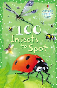 100 Insects to Spot by Sarah Khan (Cards...