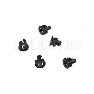 100-LED-Montageringe-3mm-LEDs-Fassung-Kunststoff-Ring-Befestigung-Kunststoffring