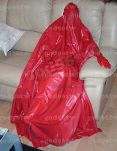 100 latex gummi burka burqua catsuit ganzanzug kost m ebay. Black Bedroom Furniture Sets. Home Design Ideas