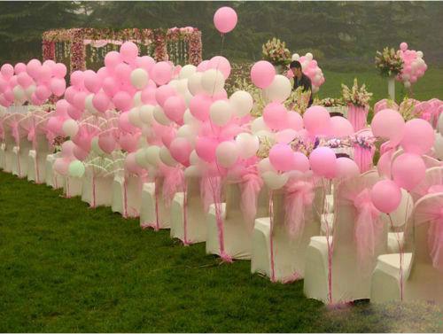 100 luftballons helium ballons hochzeit latexballon valentinstag party deko ebay. Black Bedroom Furniture Sets. Home Design Ideas