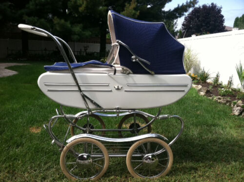 100% PERFECT CONDITION 1970 GENDRON BABY CARRIAGE BUGGY STROLLER in Baby, Strollers | eBay