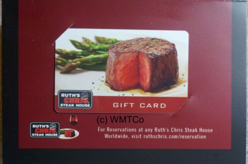 $100 RUTH'S CHRIS STEAKHOUSE GIFT CARD - FREE MAILING - 10% Discount to Face in Gift Cards & Coupons, Gift Cards | eBay