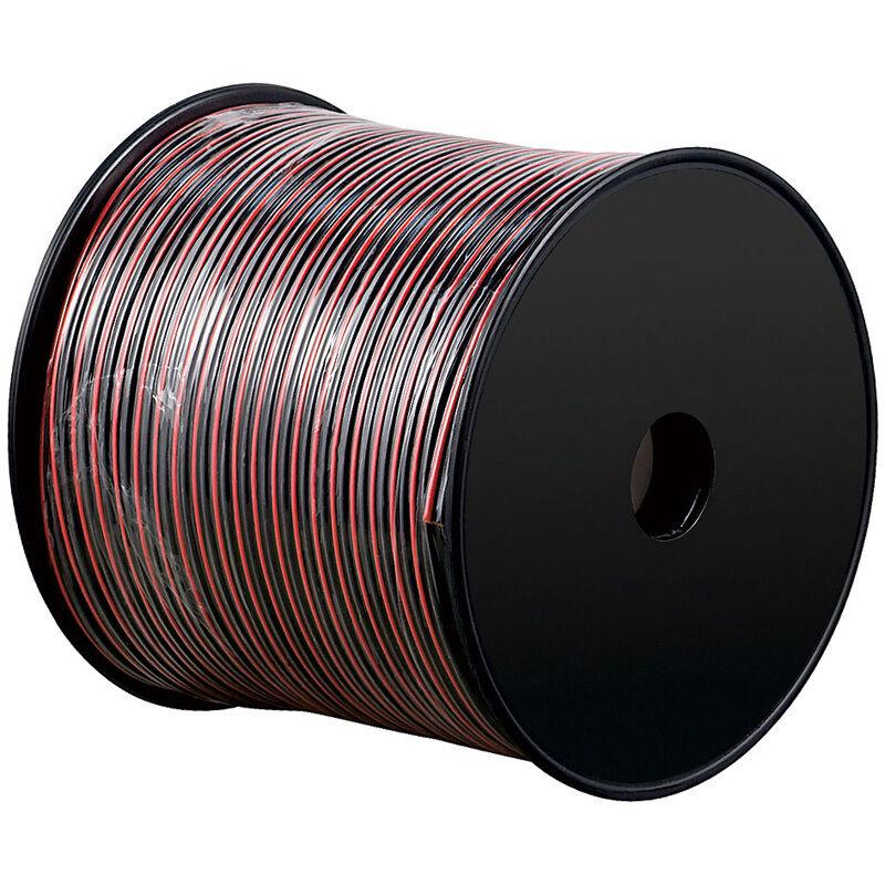 100m zwillingslitze 2x 1 5mm kabel rot schwarz 2 adrig ebay. Black Bedroom Furniture Sets. Home Design Ideas