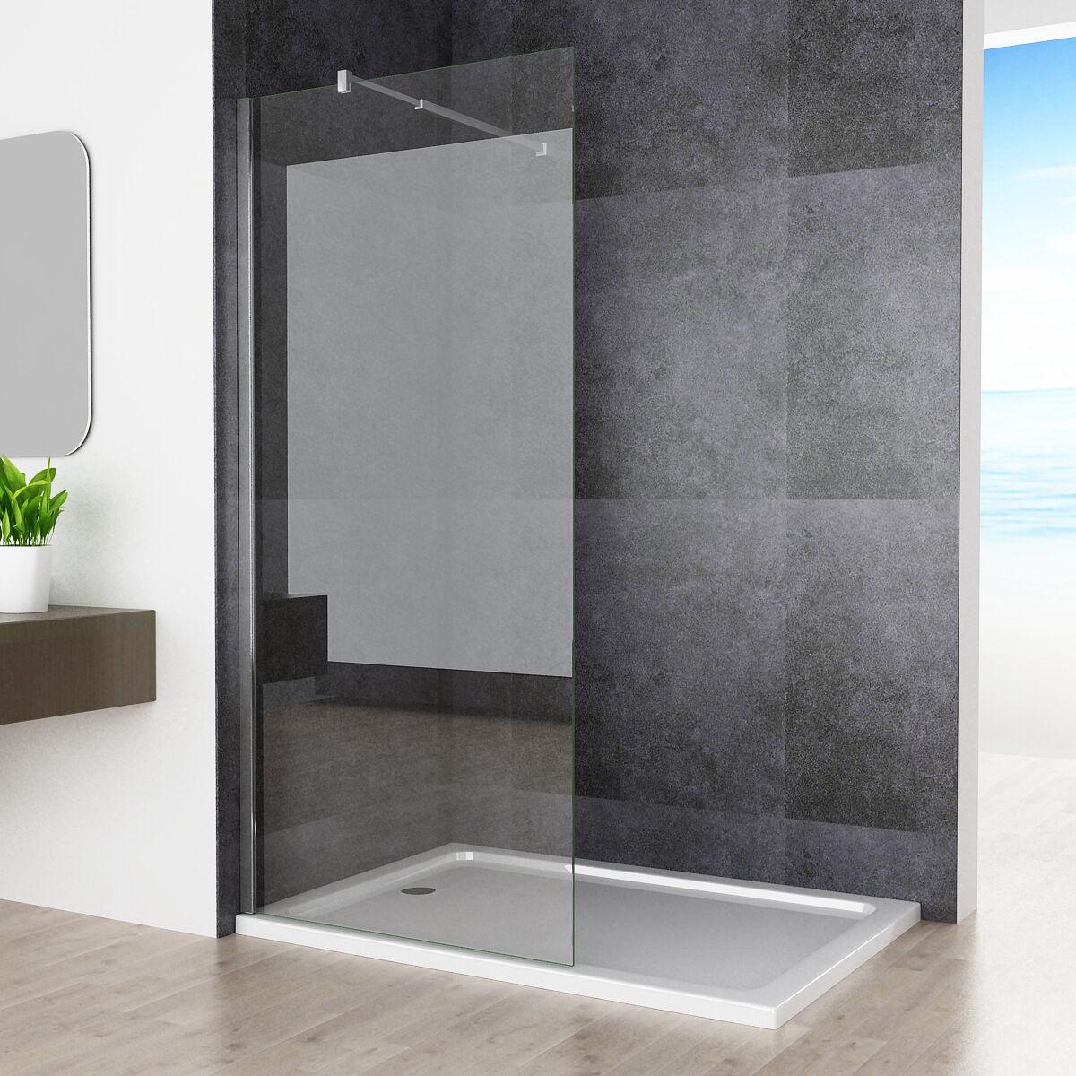 80 x 200cm walk in dusche duschabtrennung duschwand. Black Bedroom Furniture Sets. Home Design Ideas