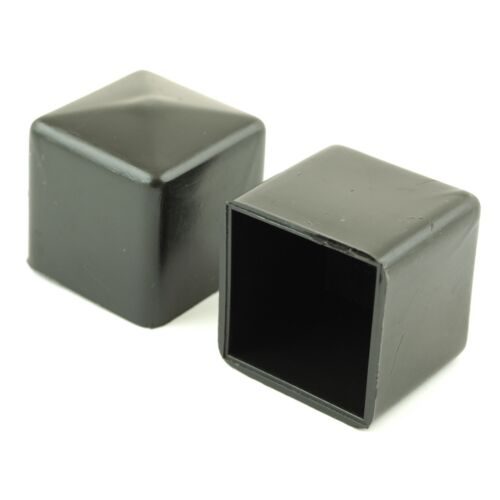 Quot inch chair feet square black ferrules tube