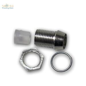 100-x-LED-Metallfassungen-Ledschrauben-fuer-5mm-LEDs