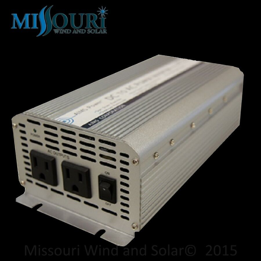 1250 watt Power Inverter 12Volt with Features by AIMS