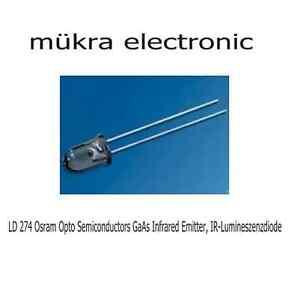 10000x-LD-274-Osram-Opto-Semiconductors-GaAs-Infrared-Emitter-Lumineszenzdiode
