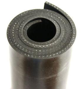 1000x100x5mm-mit-Gewebe-Gummiauflage-Gummistreifen-Gummi-Gummimatte-Schuerfleiste