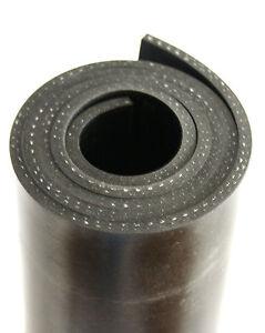 1000x120x3mm-mit-Gewebe-Gummiauflage-Gummistreifen-Schuerfleiste-Gummimatte-Gummi