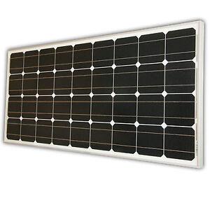 100watt solarpanel solarmodul 12v 12 volt monokristallin solar 100w ebay. Black Bedroom Furniture Sets. Home Design Ideas