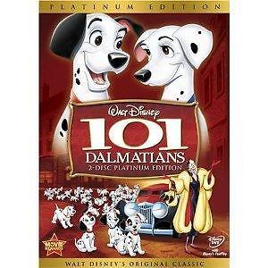 101 Dalmatians (DVD, 2008, 2-Disc Set, P...