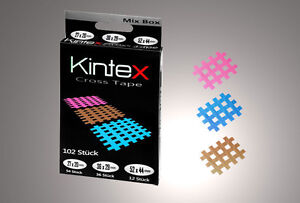 102-STUCK-ORIGINAL-KINTEX-KINESIOLOGY-TAPE-CROSSTAPE-MIX-BOX