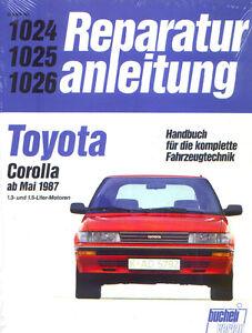 1024-Reparaturanleitung-Toyota-Corolla-ab-Mai-1987