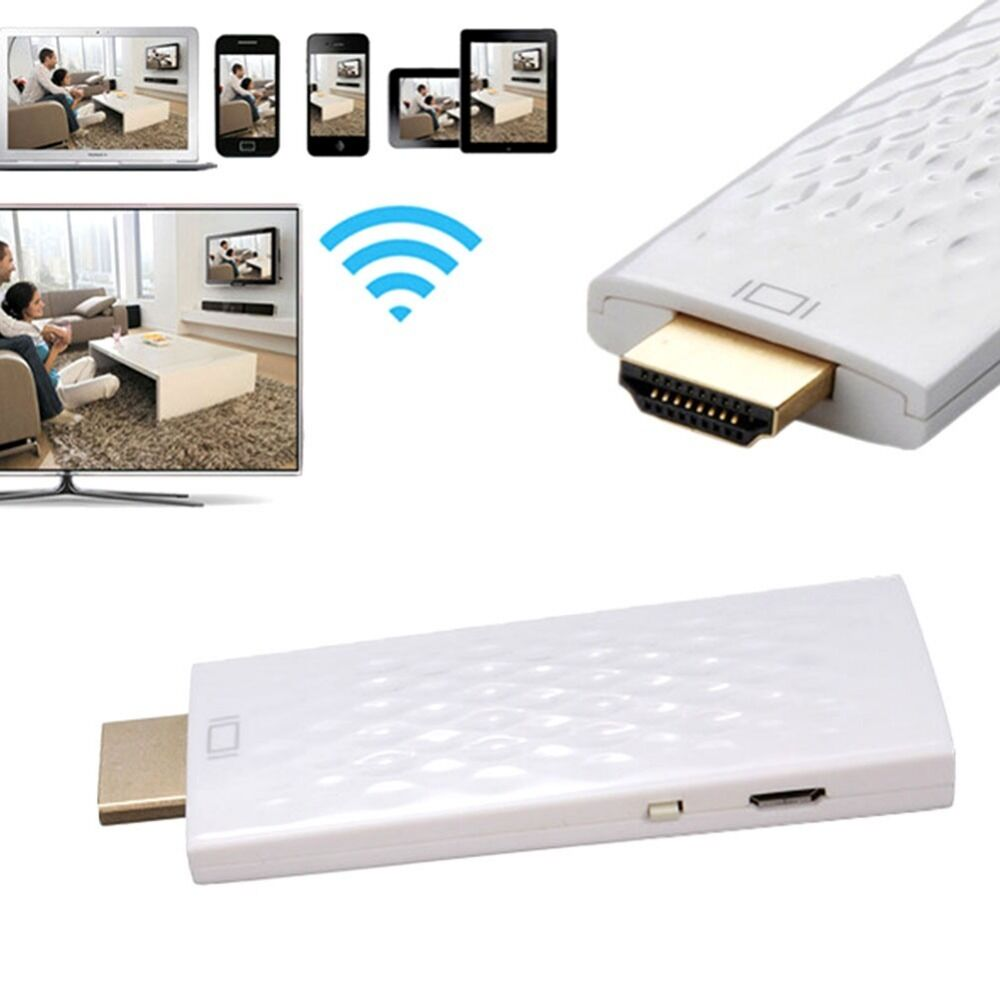 1080P HDMI Wireless WiFi Display DLNA TV Dongle AirPlay ...
