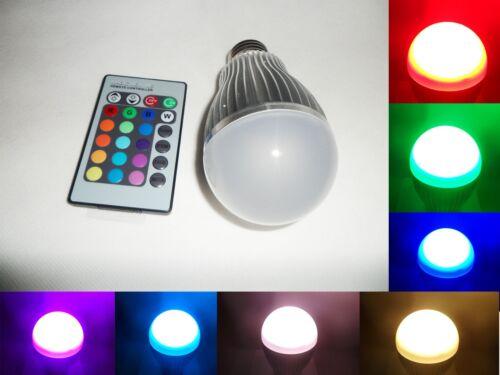 10W 16 Color Change RGB LED Light Bulb Lamp AC 85-265V+ 24 Key IR Remote Control in Home & Garden, Lamps, Lighting & Ceiling Fans, Light Bulbs | eBay
