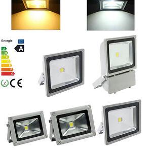 10W-20W-30W-50W-80W-100W-Warmweiss-Weiss-LED-Fluter-Flutlicht-SMD-Strahler-Licht