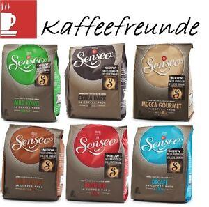 Alle senseo kaffeepads sorten