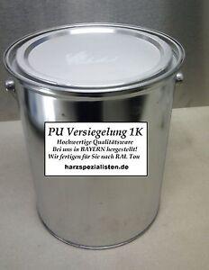 10kg f r 50m 1k polyurethanharz bodenbeschichtung garagen versiegelung farbe. Black Bedroom Furniture Sets. Home Design Ideas