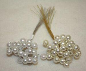 10mm gro perlen auf draht hochzeit blumen blumenstrau. Black Bedroom Furniture Sets. Home Design Ideas