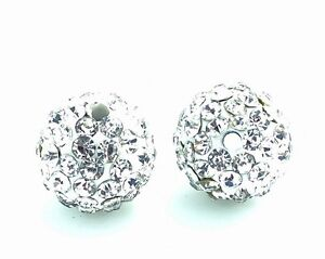 10pcs-Clear-Shamballa-Disco-Ball-Crystal-Rhinestone-beads-10mm