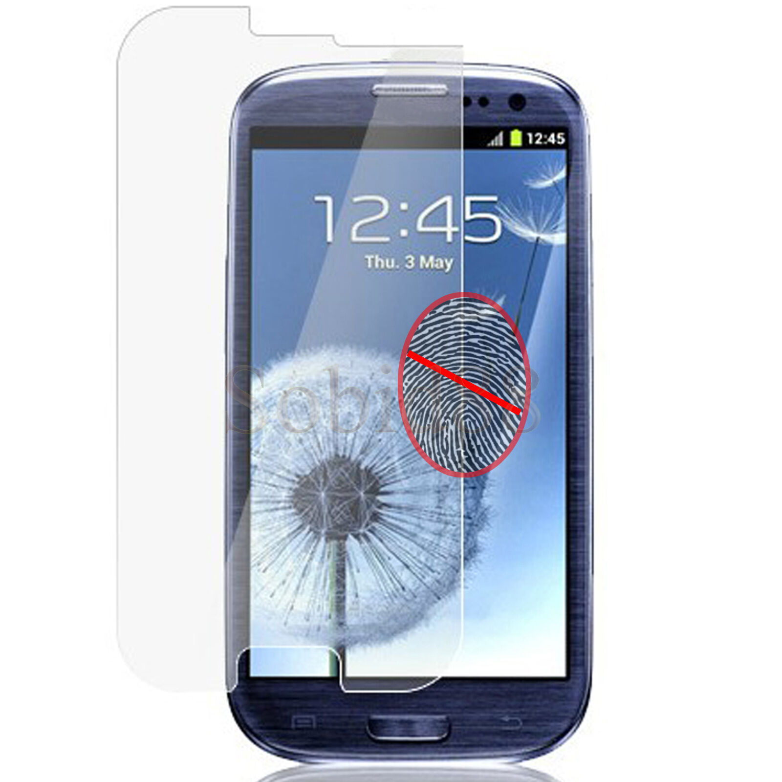 10pcs Matte Anti-Glare Clear Screen Protection For Samsung Galaxy S3 III i9300