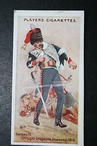 10th-Light-Dragoons-Hussars-British-Army-Original-1912-Vintage-Card-VGC