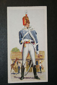 10th-Prince-of-Waless-Own-Hussars-Original-1930s-Vintage-Uniform-Card-VGC