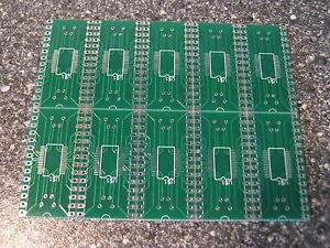 10x-Adapter-SSOP28-SMD-auf-DIP28-0-65mm-SMD-auf-2-54mm-SSOP-auf-DIP