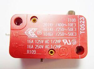 10x-Endschalter-Schalter-Taster-1xEIN-250V-16A-Marquardt-Print-15S21