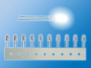 10x-NICHIA-LEDs-bedrahtet-5mm-Weiss-Ultrahell-NSPW500DT-Sonder-Restposten