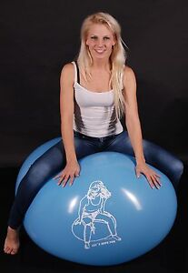 Lola has looner fun with inflatable love doll 5