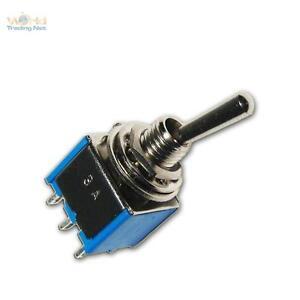 10x-SUB-Miniatur-Kippschalter-2-polig-ideal-fuer-LEDs