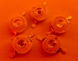 10x-rot-1-Watt-High-Power-LED-40-50-lm